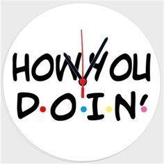 Harikabiriyim - How You Do In - Kendin Tasarla - Duvar Saati 27cm