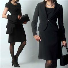 Amazon.co.jp: (エイメル) Amel 喪服 ブラックフォーマル用エンパイアワンピース+テーラードジャケット: 服&ファッション小物
