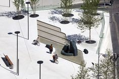 Landhausplatz 05 photo guenter wett « Landscape Architecture Works | Landezine