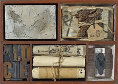 Histories, assemblage by Donna Watson
