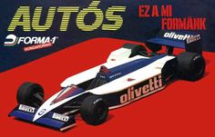 F1 Paper Model - Brabham BT55 Paper Car Free Vehicle Paper Model Download…