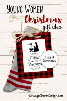 Newest Photo Digital printables to make your life easier! by CottageCharmDesign Suggestions The soulmate's bday, Valentine's day or even anniversary of this union, more than likely sever Neighbor Christmas Gifts, Easy Diy Christmas Gifts, Christmas Gifts For Women, Christmas Bells, Christmas Ideas, Neighbor Gifts, Christmas Angels, Holiday Crafts, Christmas Tree