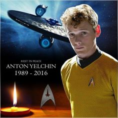 I miss anton yelchin soo much! Star Trek 2009, Star Trek Show, New Star Trek, Star Trek Beyond, Star Wars, Star Trek Actors, Star Trek Characters, Star Trek Movies, Science Fiction