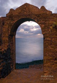 Triumphal Arch Fort São Jorge, Madeira Island. Tags: #donamaro (donamaro) #madeira (madeira)