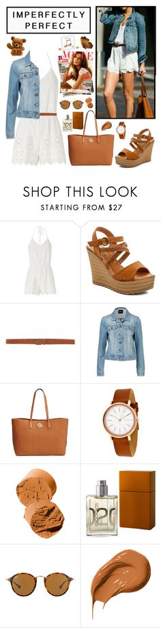 """""""Teen Fashion"""" by whims-and-craze ❤ liked on Polyvore featuring Miguelina, Rasolli, Siviglia, Tory Burch, Skagen, Bobbi Brown Cosmetics, Escentric Molecules, Ray-Ban, Happy Plugs and teen"""