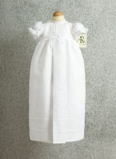 100% Linen Christening Gown, Hand Crafted in Ireland by Dublin Linen and Lace, http://www.amazon.com/dp/B007NMLO12/ref=cm_sw_r_pi_dp_o.wasb0N9STVF