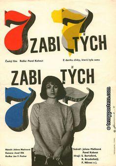 Classic Czech movie poster