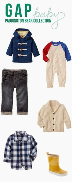 Gap Baby Boys Clothes - Paddington Bear Collection  NEW POST: The Life of Poole: So, Do These Come In My Size?!?