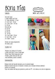 Super Design Ideas for Crochet Amigurumi Dolls Crochet Doll Pattern, Crochet Art, Love Crochet, Crochet Animals, Crochet Dolls, Crochet Patterns, Crochet Ideas, Amigurumi Tutorial, Amigurumi Patterns