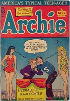 Archie 13 - Jughead - Riverdale - Winner - Contest - Beauty