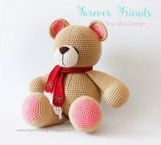 Amigurumi,amigurumi animals,amigurumi bear,crochet bear,crochet toys,handmade toys,örgü oyuncak ayı,el yapımı ayı