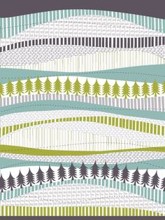 """On Minted! """"Through hill and valley"""" by Julie Hamilton Designs."""