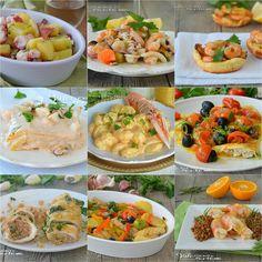 RICETTE CON IL PESCE PER LA VIGILIA E CAPODANNO Appetisers, Antipasto, Gnocchi, Finger Foods, Appetizer Recipes, Pasta Salad, Potato Salad, Food To Make, Buffet