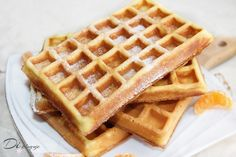 Feeling guilty for having carbs for breakfast? Feel better about it with the best low fat healthy waffles recipe! Top with fresh fruit and enjoy! Low Fat Waffle Recipe, Waffle Recipes, Nutella, No Carb Breakfast, Breakfast Recipes, Healthy Waffles, Pancakes And Waffles, Recipe For 4, Stick Of Butter