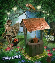 Evelyn Mae Fairy, Mini Raccoon - Bandit, Mini Cauldron, Tiny Toadstool650 x 749 | 103.8KB | fairy-gardens.blogspot.com