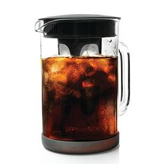 Primula Pace Cold Brew Coffee Maker - Drip Proof Lid and Filter Core - Makes 65% Less Acidic Coffee Than Heat Brewed Coffee - 100% BPA, PVC, Phthalate, and Lead Free - 51 Ounces - Black -- This is an Amazon Affiliate link. To view further for this item, visit the image link.