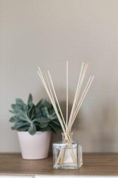 home made essential oils fragrance diffuser Homemade Reed Diffuser, Reed Diffuser Oil, Making Essential Oils, Hermes Perfume, Perfume Oils, Tupperware, Fragrance, Zen Attitude, Decoration