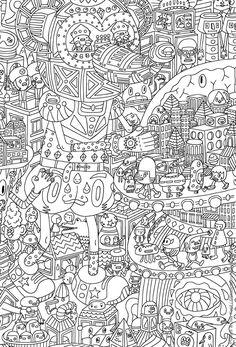 coloriage oeuvre d art a imprimer 2