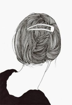 hair  #drawing