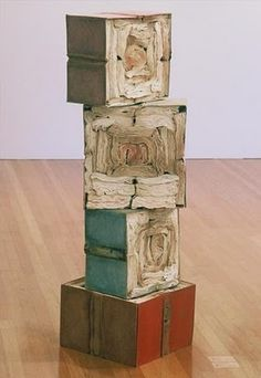 books transformed into sculpture by jacqueline rush lee