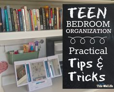 "Was it really 3 weeks ago that I started my 4-day teen bedroom makeover challenge? Yes, it was--which means I'm at least 2 weeks late with this post that should probably be titled ""New Ways to Use ..."