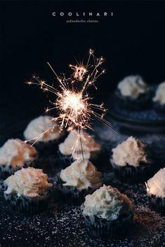 Kokosové cupcakes se slaným karamelem