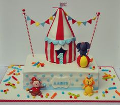 Circus Cake by Be Sweet by Maria