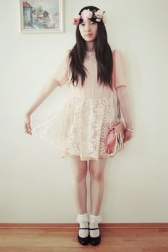 #summer #outfit #fashion #floral #vintage #whimsical