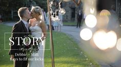 Debbie + Matt // Keys to fit our Locks.. Wedding videography by Story Of Your Day. Alice In Wonderland themed wedding. Vintage tea party themed wedding inspiration.