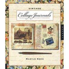 Vintage Collage Journals - Joggles.com