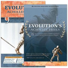 Evolution's Achilles Heels' - DVD & Book Combo Pack - ChristianMovies.com