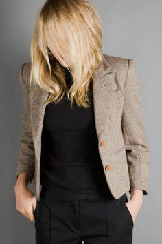 The emerson tweed jacket.