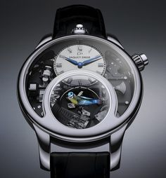 $500,000 Watch With A Singing And Moving Bird Within It - DesignTAXI.com