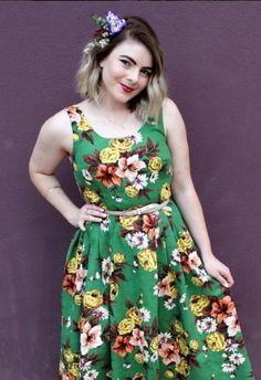 Brooke's Lilou dress - sewing pattern in Love at First Stitch