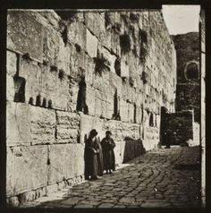 What was it like back then? The Everyday Life of Jews in Jerusalem's Old City 120 Years Ago #Kotel
