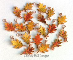 Making Fall Leaves