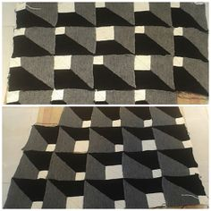 Ravelry: Theresia58's Pimpled Rubber or Boxes - Optical Illusion