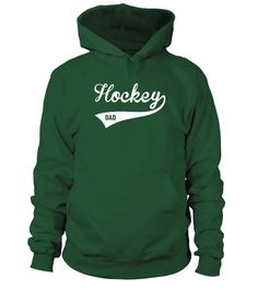 HOCKEY DAD (Hoodie Unisex - Green Bottle) hockey storage, hockey puck, hockey treats #happy #marriedlife #faith, christmas decorations, thanksgiving games for family fun, diy christmas decorations