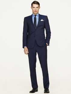 Anthony Dotted Pinstripe Suit - Suits  Men - RalphLauren.com