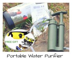 100% brand new and high quality, portable outdoor water filter purifier, perfect for the outdoors where survival is concerned. Generally used for hiking and camping as it is light in weight and provides clean water wherever you go. #portable #waterislife #cleanwater #survival