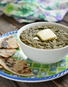 Authentic Saag recipe made in a slow cooker! Buttery, Rich, Delicious & Paleo! myheartbeets.com