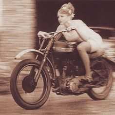 holdfastmotors: This right here is perfection. I love old moto photos. #vintage #oldmotophotomonday
