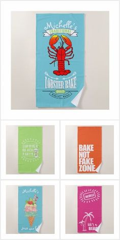 Sunshine, tanning, boating, beach parties: what's better than summer at the beach? Add one of these custom beach towels to make the day absolutely perfect. Custom Beach Towels, Beach Party, Party Supplies, Boating, Wallpaper, Day, Stew, Artist, Sunshine