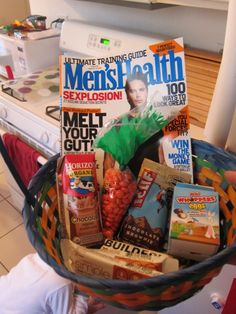 Basket for Men... Easter or Father's Day