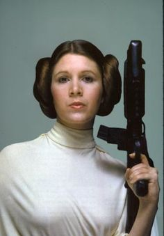 We're familiar with the Carrie Fisher who donned the Princess Leia buns in the Star Wars trilogy, but offscreen may be a different story. Fisher has struggled with substance abuse and bipolar disorder, she told ABC News in an interview. Leia Star Wars, Star Wars Rebels, Star Wars Princess Leia, Star Wars Art, Star Trek, Real Princess, Princess Leia Bikini, Carrie Fisher, Frances Fisher