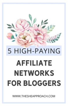 Are you on the lookout for some Well Paying Affiliate Networks so you can get st Marketing Program, Affiliate Marketing, Content Marketing, Online Marketing, Digital Marketing, Marketing Videos, Business Marketing, Make More Money, Make Money Blogging