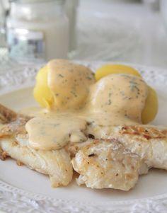 Vallagat och valdigt latt panerad torsk