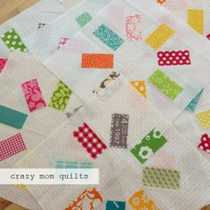 waiting in progress - crazy mom quilts