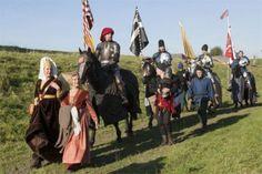 Riddertoernooi op Slot Loevestein - Middeleeuws weekend vol activiteiten - Bommelerwaardgids