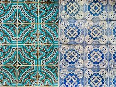 Azulejos, Portuguese Tiles, Portugal
